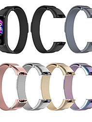 cheap -Stainless Watch Strap for Huawei Band 4 / Honor Band 5i Bracelet Magnetic Wrist Watch Strap