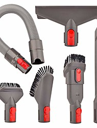 cheap -attachment flexible hose kit compatible with dyson v8 v7 v10 v11 absolute cordless,v7 animal trigger motorhead car+boat,v10 animal motorhead brush accessories(directly connect,no adapter needed)