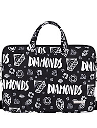 cheap -13.3 Inch Laptop / 14 Inch Laptop / 15.6 Inch Laptop Sleeve / Briefcase Handbags / Tablet Cases Polyester Novelty / Letter for Men for Women for Business Office Waterpoof Shock Proof