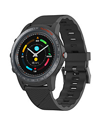 cheap -Mombasa S22 Smart Watch Perforated Screen Color Screen Bluetooth Call Body Data Monitoring Call Reminder Waterproof Stainless Steel Case