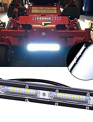 cheap -1PCS auto 7 inch 60W Ultra Slim Light Bar work bar SUV ATV Off Road flood beam UTV Flood Car Work Light Lamp 3030 led