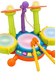cheap -Simulation Puzzle drums drums musical instruments