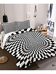 cheap -3D Vortex Series 3D Digital Print 3 Pieces Bedding Set Duvet Cover Set Modern Comforter Cover Ultra Soft Hypoallergenic Microfiber and Easy Care(Include 1 Duvet Cover and 1 or2 Pillowcases)