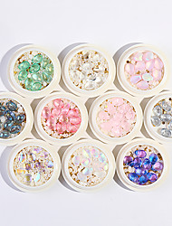 cheap -Mixed Nail Art Jewelry Crystal Stone Pearl Steel Ball Rivet Mixed Nail Shell Stone Jewelry