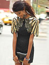 cheap -Women's Sheath Dress Short Mini Dress - Short Sleeve Color Gradient Sequins Summer Casual Elegant Hot Slim 2020 Black S M L XL