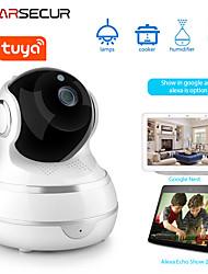 cheap -Tuya WIFI HD 1080P Home Security IP Camera Two Way Audio Wireless Mini Camera 1MP Night Vision CCTV WiFi Camera Baby Monitor