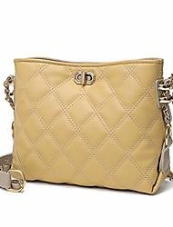 cheap -small crossbody purses for women fashion leather lightweight handbags shoulder bag(yellow)