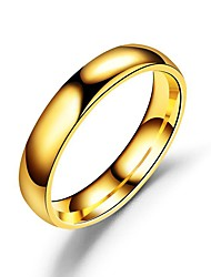 cheap -Ring Retro Gold Alloy Simple European Fashion 1pc 6 7 8 9 10 / Couple's