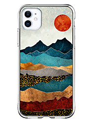 cheap -Special Design Landscape Case For Apple iPhone 12 iPhone 12 Pro Max iPhone XR Unique Design Protective Case Shockproof Transparent Pattern Back Cover TPU