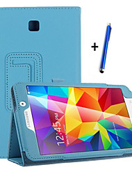 cheap -Case For Samsung Galaxy with Stand / Flip Full Body Cases Solid Colored Hard PU Leather