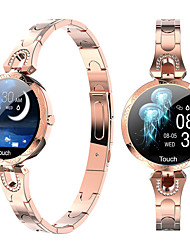 cheap -AK15 Smartwatch Fitness Running Watch Bluetooth ECG+PPG Timer Stopwatch Waterproof Touch Screen Heart Rate Monitor IP 67 38mm Watch Case for Android iOS Men Women / Blood Pressure Measurement