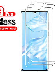 cheap -3Pcs Protective Glass Anti-Scratch Screen Protector For Huawei P40 P40lite P40pro P30 P30 lite High Definition  Screen Protector Tempered Glass For Huawei P30 Pro