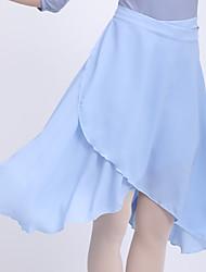 cheap -Ballet Skirts Ruching Bandage Women's Training Performance High Polyester