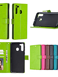 cheap -Case For Samsung Galaxy Xcover4 J5 A9Pro S6Edge S7 Edge S6 edge Plus S4 s8 plus S9 S9plus J7 S5 A5 J7 Prime A8 2018 A8plus2018 Card Holder Shockproof  Flip Full Body Cases Solid Colored PU Leather TPU