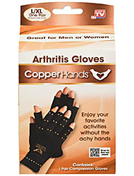 cheap -copper hands fingerless compression gloves by bulbhead, provides relief from joint, tendon, & muscle pain