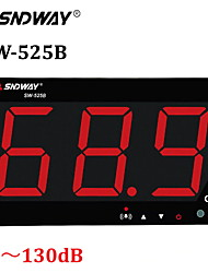 cheap -Sound Level Tester Wall Mounted LCD Display Digital Sound Level Meter USB 30-130dB SW-525A/525B Noise Decibel Monitoring Testers