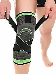 cheap -knee compression sleeve for men women knee brace supports for basketball weightlifting gym workout