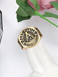 cheap -Ring Retro Bronze Alloy Letter Punk European Trendy 1pc 7 8 9 10