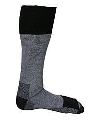 cheap -merino wool socks with toe heat warmer pockets, large