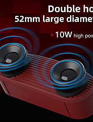 cheap -Bluetooth Speaker Wireless Interconnection Speaker 360 Stereo Surround Column With FM /Aux/ TF Card/Handsfree Function