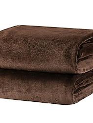 cheap -fleece blanket throw size brown lightweight super soft cozy luxury bed blanket microfiber