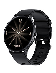 cheap -W13 Hybrid-face Smartwatch for Android/IOS/Samsung Phones, Fitness Tracker Support Bluetooth Play Music & Blood Pressure Measurement