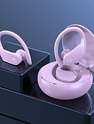 cheap -Business Bluetooth 5.0 Earphone Ear Hook Stereo Mini Wireless Headphones Sport In-Ear Headset Earbuds With Mic