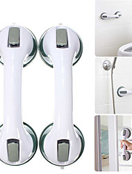 cheap -2PC Bathroom Suction Cup Handle Grab Bar Toilet Bath Shower Tub Bathroom Shower Grab Handle Rail Grip for Elderly Safety