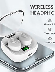 cheap -Tws Wireless Bluetooth Earphone Intelligent Touch Control Wireless Mini Tws Earphones With Mic Stereo Bass Sound