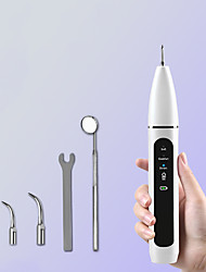 cheap -Household Ultrasonic Dental Scaler Dental Calculus Remover Electric Dental Beauty Instrument Dental Scaler IPX6 Waterproof Three Modes Two Nozzles