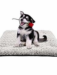 رخيصةأون -وسادة قفص سرير كلب ناعمة قابلة للغسل ومضادة للانزلاق للكلاب والقطط الصغيرة والمتوسطة الحجم (23 × 18 بوصة)