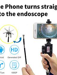 cheap -1M Industrial Video Inspection Camera USB Rigid Borescope Endoscope with 180 Degree Articulating 8.5mm Diameter Probe 1M