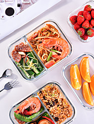 cheap -Food Storage Containers Set Newly Innovated Hinged BPA-free Locking Lids 100% Leak Proof Glass Meal Prep Containers Great On-the-go Freezer to Oven Safe Food Containers Storage Bag Offered