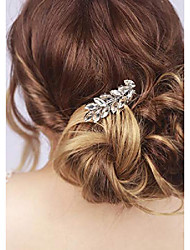 cheap -wedding bridal cute oliver branch side hair combs headpiece for prom,party (silver)