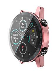 cheap -Cases For Huawei Huawei Honor Magic Watch 2 46mm TPU Screen Protector Smart Watch Case Compatibility