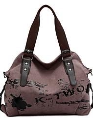 cheap -women handbag casual vintage hobo canvas daily purse shoulder tote shopper bag (19.68''h 15.74''l 6.29''w, purple)