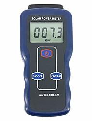 cheap -solar meter light solar power meter SM206 solarmeter irradiation meter glass Intensity Radiation Tester Data Hold Peak