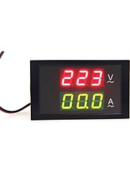 cheap -Digital LED Voltage Meter Ammeter Voltmeter with Current Transformer AC80-300V 0-100.0A Dual Display