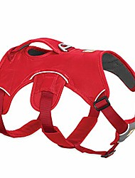 cheap -, web master, multi-use support dog harness, hiking and trail running, service and working, everyday wear, red currant, medium
