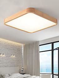 cheap -40 cm Simple Ceiling Light Modern Bedroom Room Lamp Nordic Solid Wood Lamp