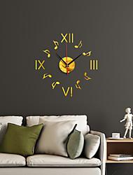 cheap -Watch Clock Fashion Bote Roman Numeral Simple Acrylic Mirror Decoration Wall Clock  Home Decoration
