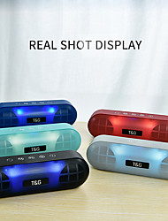 cheap -Mini LED Light Bluetooth Speaker Portable Outdoor Bass Wireless Loudspeaker 3D Stereo With Mic FM TF Card Line