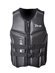 cheap -YON SUB Life Jacket Rain Waterproof Anatomic Design Waterproof Zipper Japanese Cotton Neoprene Swimming Surfing Water Sports Life Jacket for Adults / Stripes