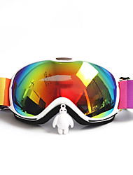 cheap -BASTO Ski Goggles for Adults' Winter Sports Waterproof Adjustable Size