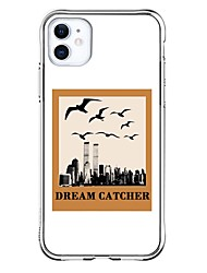 cheap -Personalized Customized Case For Apple iPhone 11 / iPhone 11 Pro / iPhone 11 Pro Max Shockproof / Ultra-thin / Transparent Back Cover Text / Dream Catcher Soft TPU