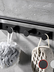 cheap -Hardware Accessory Multifunctional Rotating Towel Bar With 3 Rows Of Hooks Bathroom & Kitchen