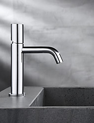 cheap -Bathroom Sink Faucet - Hot and Cold Water Single Lever Deck Mounted Wash Room Vessel Vanity Sink Mixer Tap B&B Hotel Bathroom Centerest Basin Faucet
