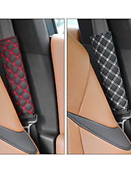 cheap -DeRanFu Niversal Car Seat Belt Pads CoverSeat Belt Shoulder Strap Covers Harness Pad For Car/BagSoft Comfort Helps Protect You Neck And Shoulder From The Seat belt Rubbing(2-Pack)