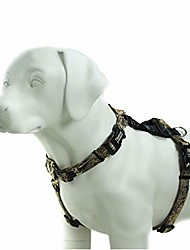 cheap -pet products balance harness buckle neck (large, camo)