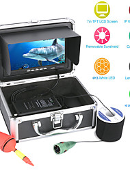 """cheap -MOUNTAINONE F002M-20M 20M 1000tvl Underwater Fishing Video Camera Kit 6 PCS LED Lights with7"""" Inch Color Monitor"""